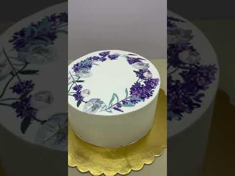 Прямая печать на торте