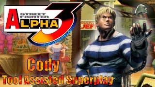 [TAS] - Street Fighter Alpha 3 (Arcade/CPS2) - Cody - Full Perfect