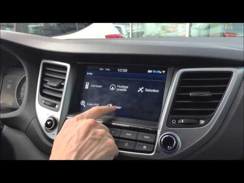 Hyundai Tucson TomTom LIVE Services