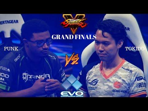 EVO 2017: Punk vs Tokido [Street Fighter V] GRAND FINALS