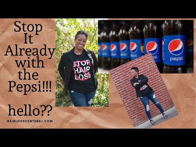 Stop it already with the Pepsi!
