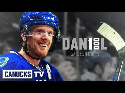 Daniel Sedin | Congratulations on 1000 NHL Points