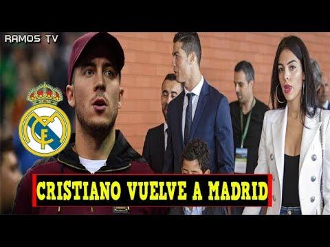 ÚLTIMA HORA: CRISTIANO RONALDO VUELVE a MADRID | OFERTA de 170 MILLONES por HAZARD thumbnail