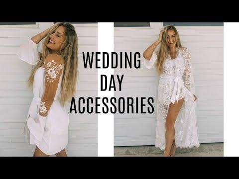 WEDDING DAY ACCESSORIES! | Lauren Lebouef