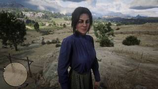 The very end of Red Dead Redemption 2