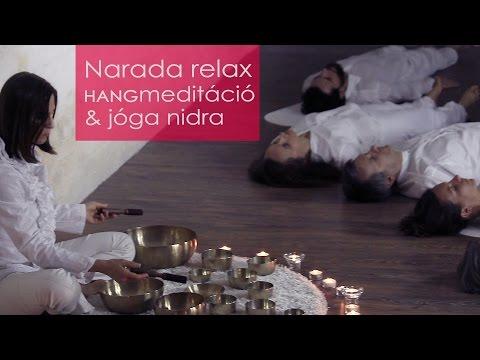 Narada relax HANGmeditáció & jóga nidra    hangtálakkal