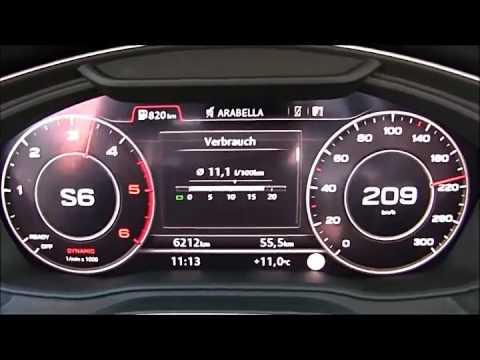 2017 Audi A4 2 0 Tdi B9 200 Hp Top Speed Youtube