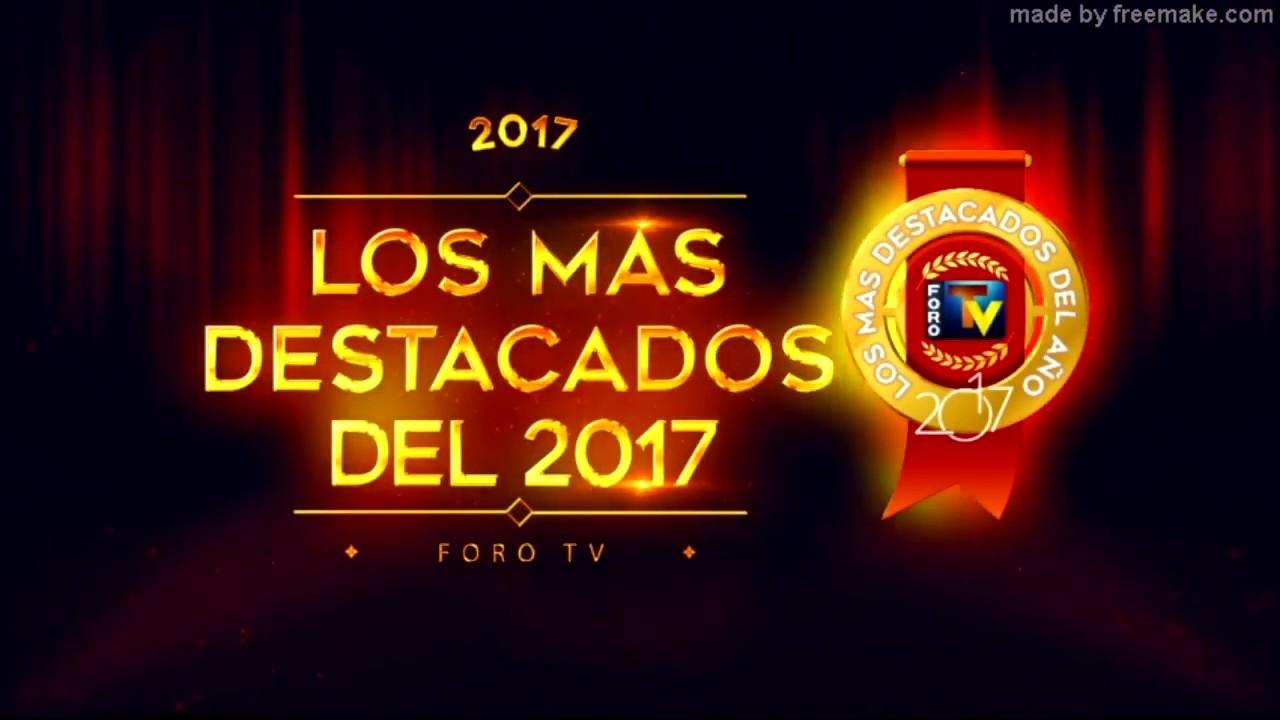 LOS MAS DESTACADOS 2017 - PREMIACION ANUAL - YouTube 7fa8965706d