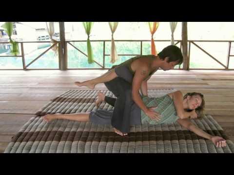 Thai Yoga massage demo Ralf Marzen Advanced
