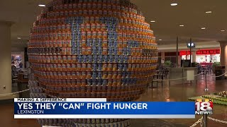 "Making A Difference: Yes They ""Can"" Fight Hunger"
