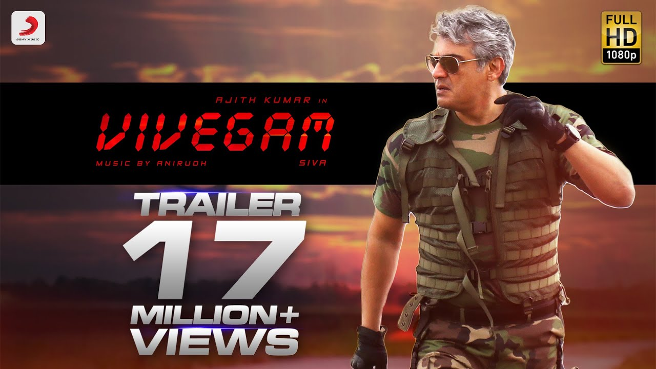 Download Vivegam Official Tamil Trailer | Ajith Kumar | Siva | Anirudh Ravichander