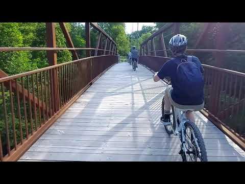 Milne Dam Conservation Park Biking