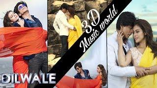 3D HQ Song Gerua Dilwale Arijit Singh Shahrukh Khan,Kajol Headphone use Audio Virtual
