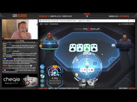 Team Pokerstars Pro Lex Veldhuis Playing Power Up - Part 1