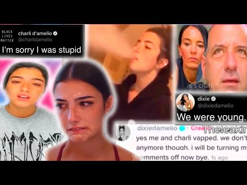 Charli D'amelio and Dixie exposed for vaping! FULL VIDEO! CANCELLED?