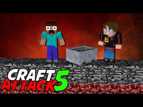 Über dem Bedrock mit Earliboy 💥 Craft Attack 5 #15 Minecraft Deutsch 💥 baastiZockt