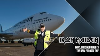 Baixar Iron Maiden - Bruce Dickinson meets the new Ed Force One