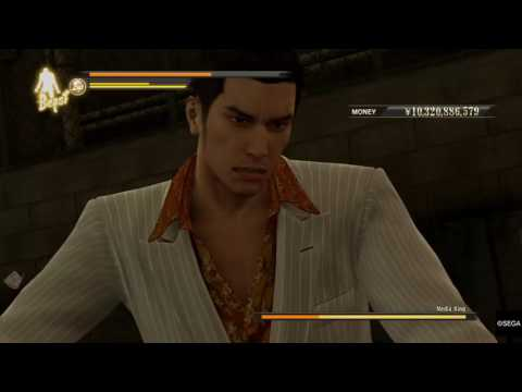 Yakuza 0 Boss Fight: Media King (Legend) (no supplements