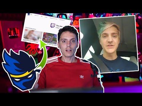 Ponen Nopor en el Canal de NINJA en Twitch-Wefere NEWS