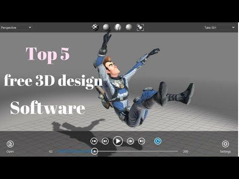 Top 5 free 3D design software