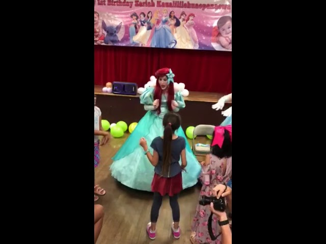 """The Mermaid Princess """"look-a-like"""" Party Performance"""