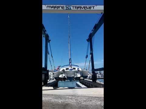 Piver Herald trimaran 32 foot 6 by 19 foot 6 Resplash😎!