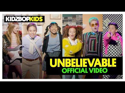 KIDZ BOP Kids – Unbelievable (Official Music Video) [KIDZ BOP '90s Pop!]