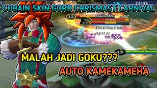 COBAIN SKIN GORD CHRISTMAS CARNIVAL MUSUH AUTO WIPED OUT PART53 MOBILE LEGENDS INDONESIA