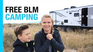RV TEXAS: SAN ANTONIO, THE ALAMO & RIVER WALK (EP 34: FIRST BLM CAMPING)