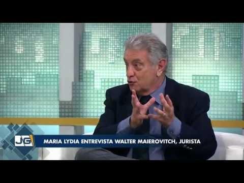 Maria Lydia entrevista Walter Maierovitch, jurista