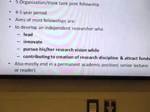 How to write  Successful Research Fellowship Application  - تمويل التقدم لنيل الزمالات