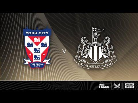 York City v Newcastle United   Pre-Season Friendly