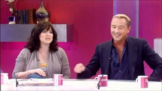 Michael Flatley on Loose Women 10/03/11