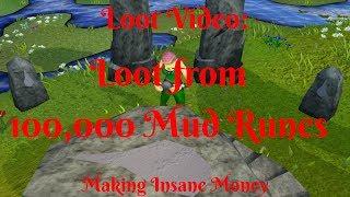 Making 100,000 Mud Runes- Mad Money- Must See