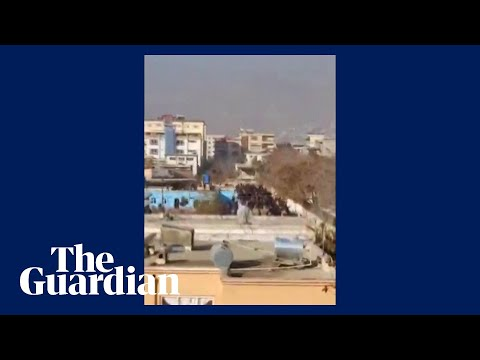 Afghanistan: footage shows aftermath of rocket strikes in Kabul
