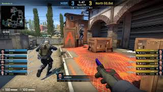 CS:GO POV Demo MIBR coldzera (33/13) vs North (de_inferno)