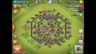 CLASH OF CLANS GREEK EP 9.GOLEMS,VALKS,P.E.K.K.A+BARB KING LVL 5