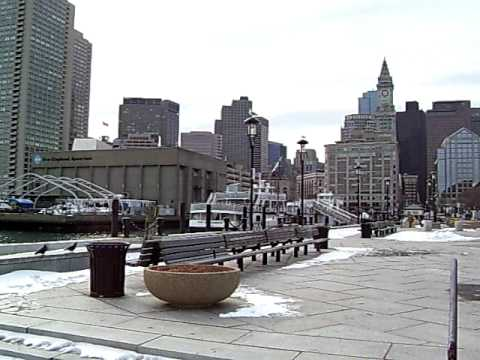 Long Wharf Boston Harbor Massachusetts East Boston Aquarium