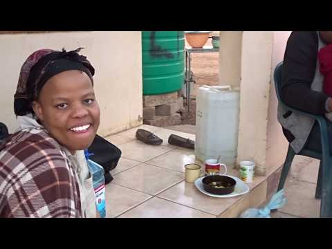 Cooking at the village of Botswana | How we cook at villages