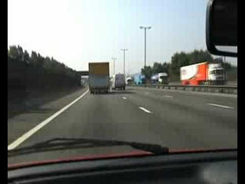 M6 Motorway - New driver on the M6 for the very first time e