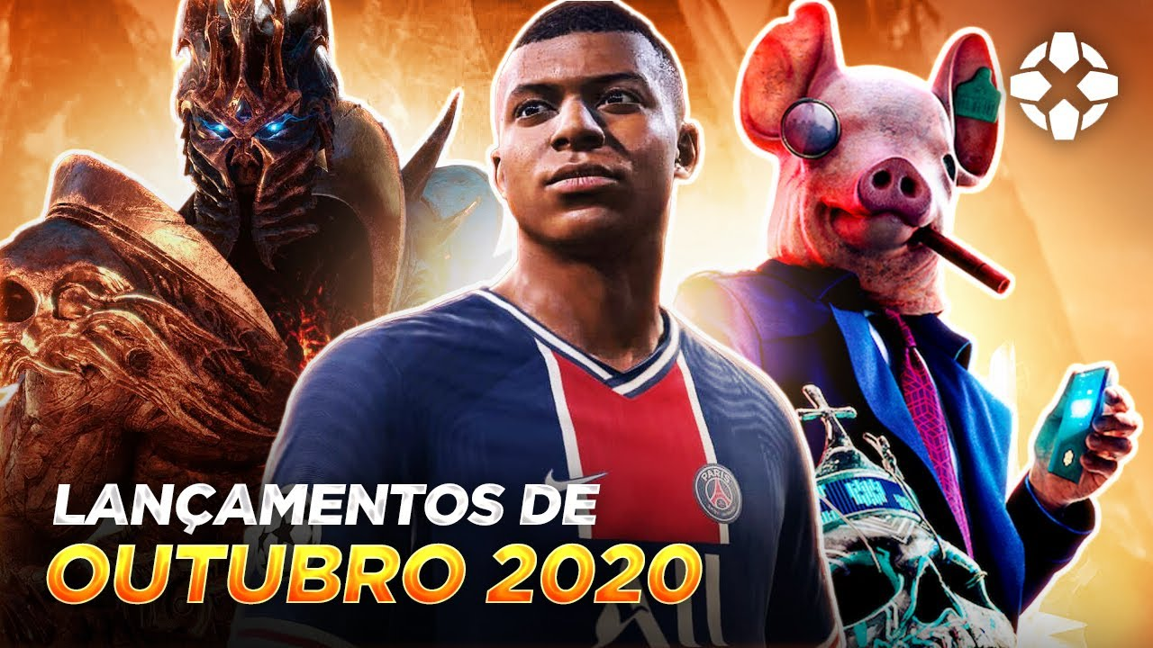 LANÇAMENTOS DE GAMES - OUTUBRO 2020 (PLAYSTATION 4, XBOX ONE, SWITCH E PC)