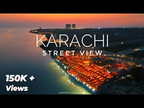 KARACHI City Street View 2021 - Expedition Pakistan