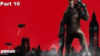 Wolfenstein The New Order Gameplay Walkthrough Part 10 (PS4)