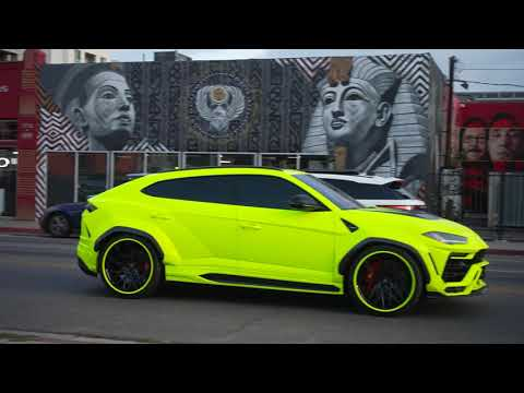 LaMelo Ball Tennis Ball Lamborghini Urus Widebody!