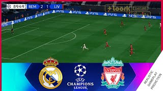 REAL MADRID vs LIVERPOOL | HIGHLIGHTS, RESUMEN | Champions League, 2021