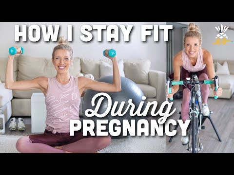 How I Stay Fit While Pregnant | Prenatal Exercises at Home