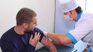2017-09-15 г. Брест. Осень пришла - пришла пора вакцинации. Новости на Буг-ТВ.