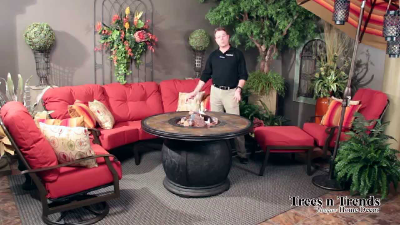 Good Woodard Cortland Patio Furniture Overview   YouTube