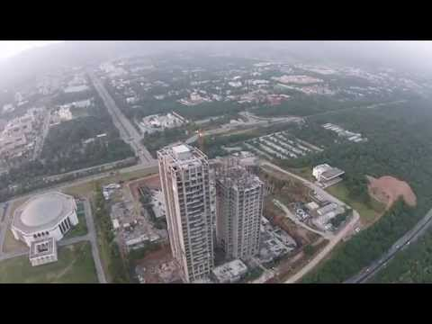 One Constitution Avenue aerial view