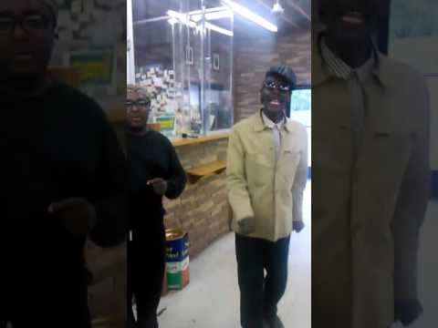 The real Eddie Kane an choir Boy 40 years later perform at a local liquor store